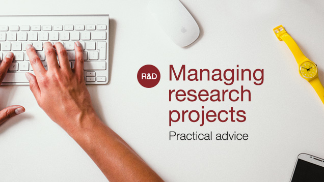managing research projects
