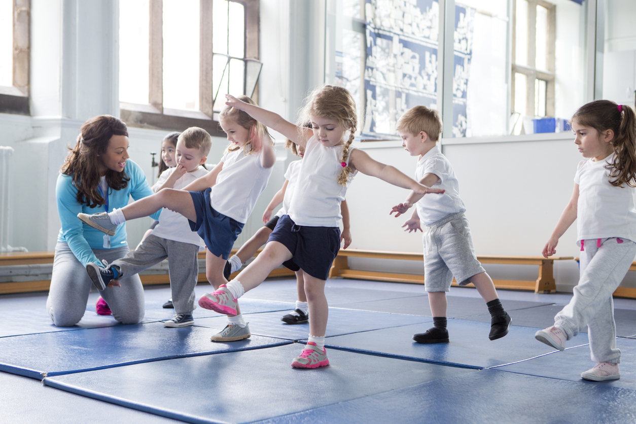 physical activity in school aged children