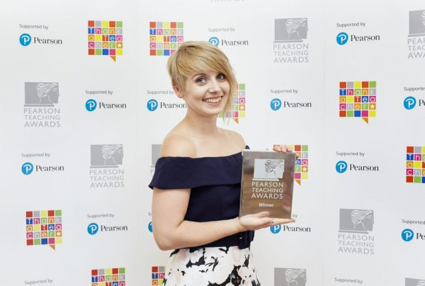 Charlotte Grace receives award