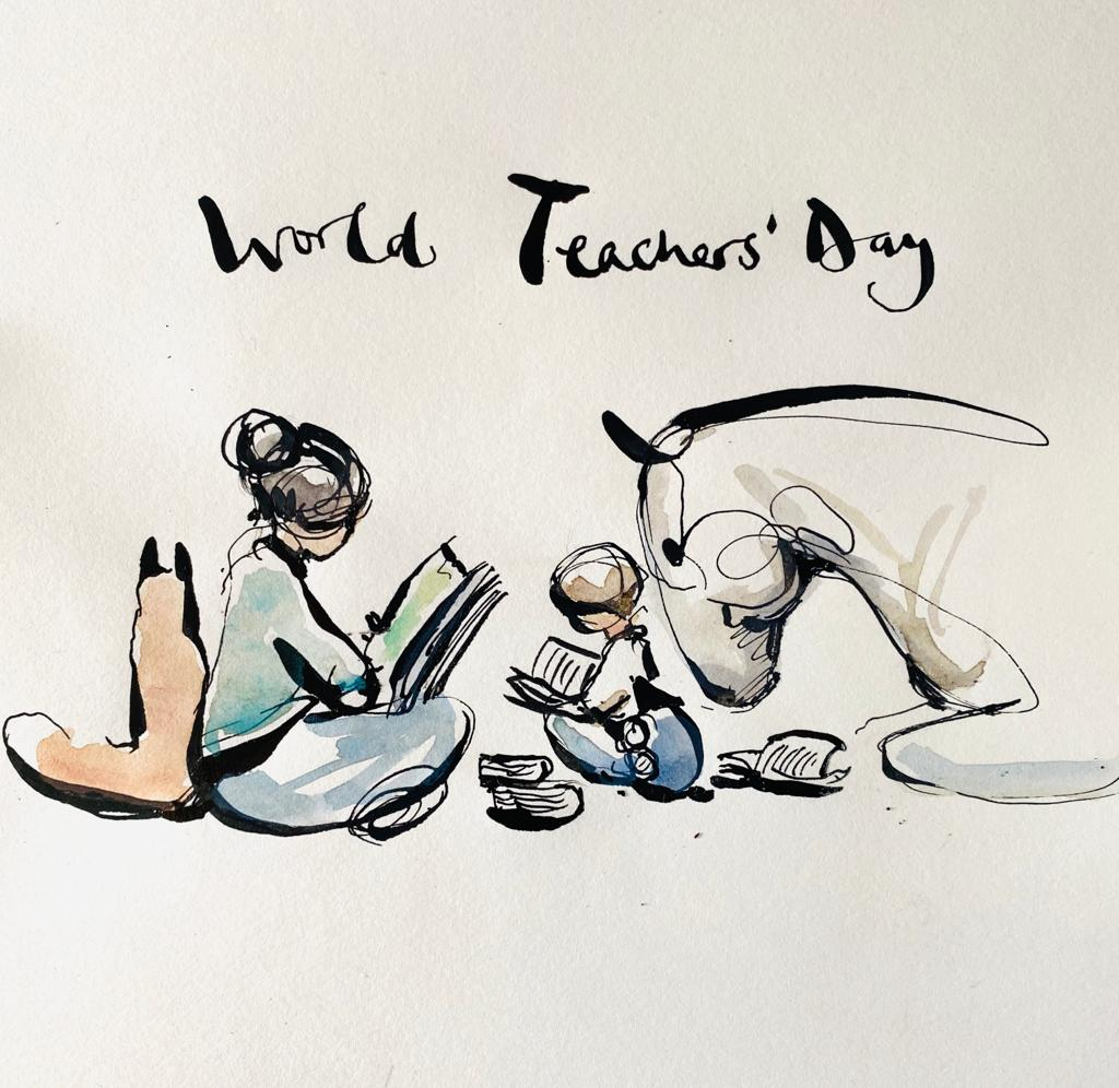 World Teachers' Day design